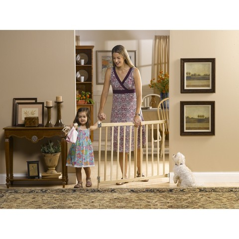 GuardMaster® III 477 Tall Wood Slat Swing Baby and Pet Gate