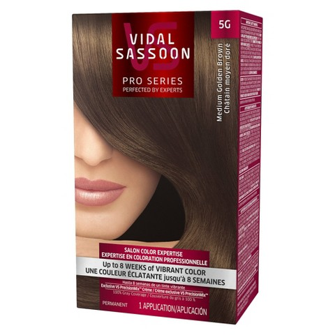 VIDAL SASSOON Medium Brown Hair Color Hair Color Kit