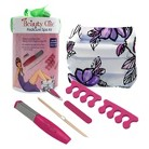 Beauty Chic Pedicure Spa Kit - Pink/White