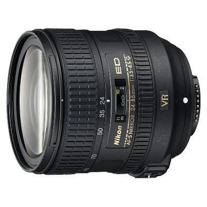 Nikon AF-S Nikkor 24-85mm Telephoto Lens - Black (2204)