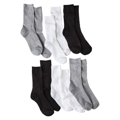 Women's Crew Socks 6-Pack