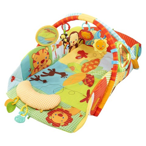 Bright Starts Baby's Play Place Playmat - Swingin' Safari