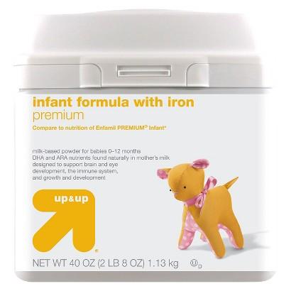 up & up® Infant Formula Premium - 40oz (6 Pack)