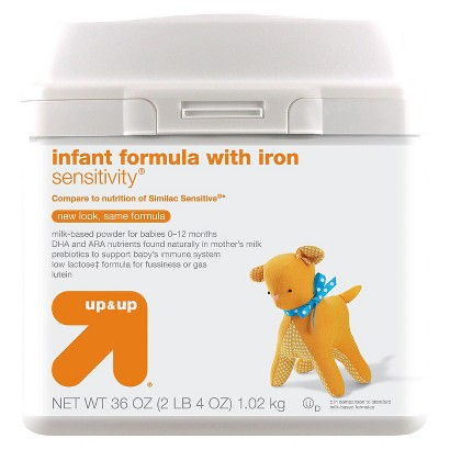 up & up® Baby Food Infant Formula Sensitivity 36 oz 6 pk