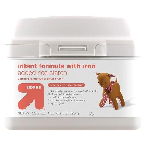 up & up™ Infant Formula A.R. - 22.2oz (6 Pack)