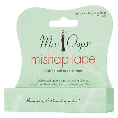 Miss Oops® Women's Mishape Tape Clear 36 Strips