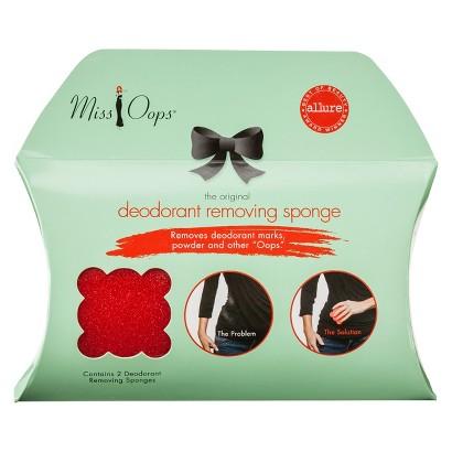 Miss Oops® Women's Rescue Sponges Red 2 Sponges in Package