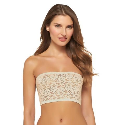 Miss Oops® Women's Lace Bandeau Tube Bra