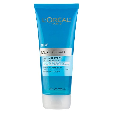 L'Oreal® Paris Ideal Foaming Gel Cleanser - 6.8 fl  oz