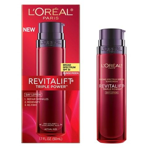 L'Oreal® Paris Revitalift Triple Power Day Lotion SPF 30 - 1.7 fl  oz