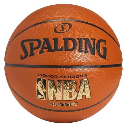 SPALDING orange Spalding Nugget basketball 29.5