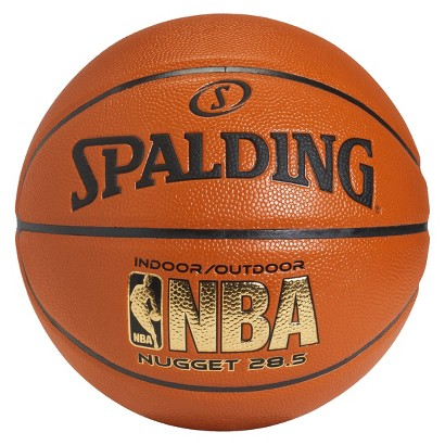 SPALDING orange Spalding Nugget basketball 28.5