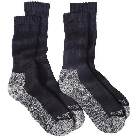 Dickies® Men's 2-Pack Steel Toe Boot Crew Sock - Assorted Colors