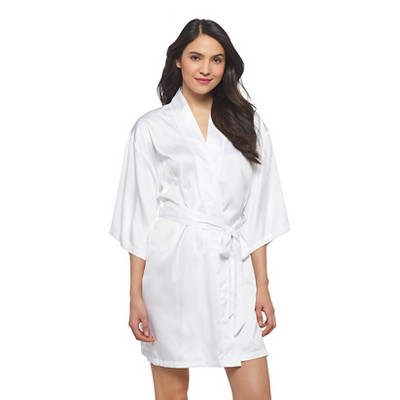 Women's Plus-Size Bridal Robe True White - Gilligan & O'Malley®