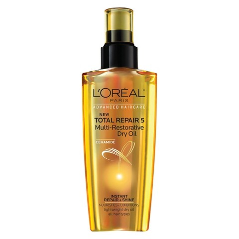L'Oreal® Paris Advanced Haircare Total Repair 5 Multi-Restorative Dry Oil, 3.40 Fluid Ounce