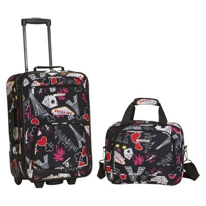 Rockland Rio 2-pc. Carry-On Luggage Set - Vegas