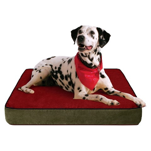 Buddy Beds Colorado Mountain Memory Foam Dog Bed