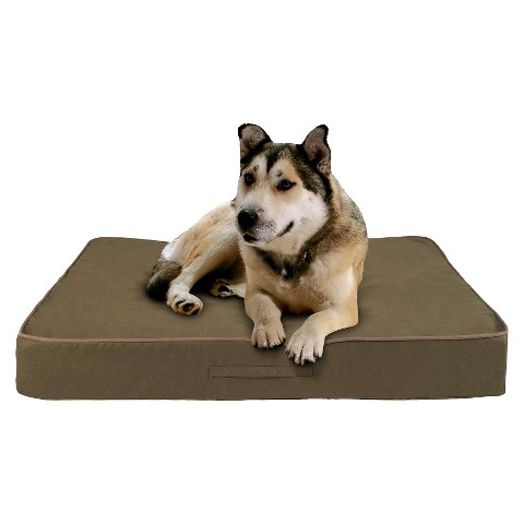 Buddy Beds Memory Foam Dog Bed Taos Sage - Green