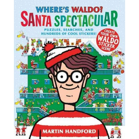 Where's Waldo? Santa Spectacular (Original) (Paperback)
