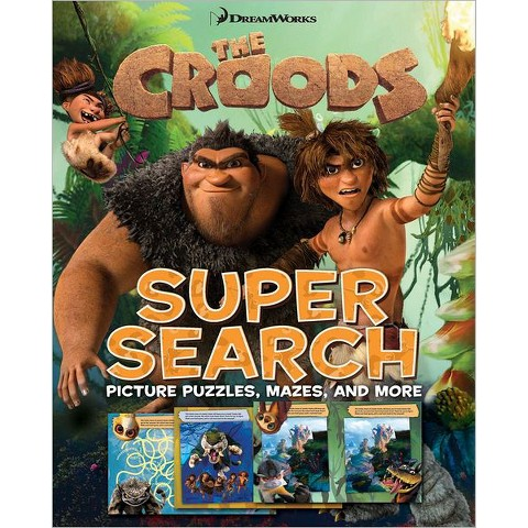 The Croods Super Search (Paperback)