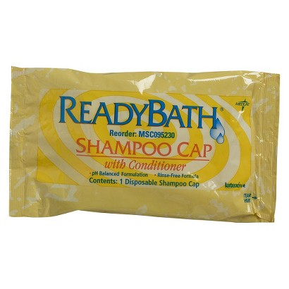 MEDLINE n/a CAP,SHAMPOO,READYBATH,SCENTED,1/PK  - 30pks
