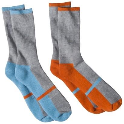 dENiZEN® from the Levi's® brand Men's 2pk Contrast Sole Crew Socks - Assorted Colors