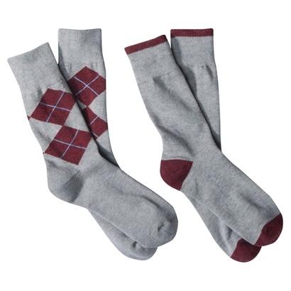 dENiZEN¨ from the Levi's¨ brand Men's  2pk  Argyle Crew Socks - Assorted Colors