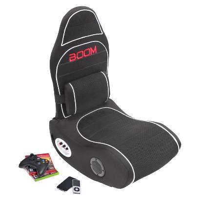 Gaming Chair: BoomChair Bluetooth Gaming Chair - Black