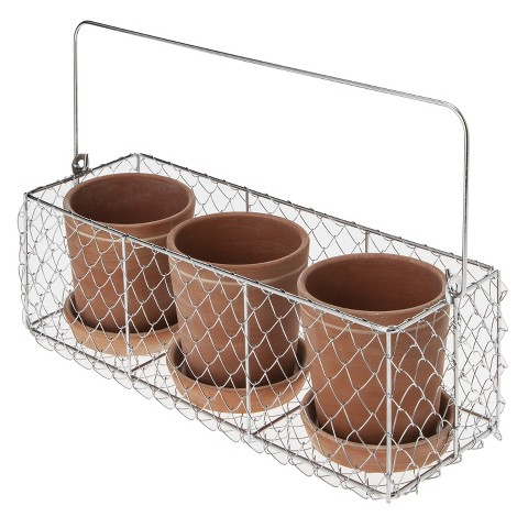 Smith & Hawken® Terracotta Pot Trio
