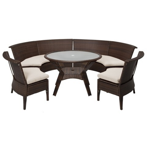 Threshold Rolston 5 Piece Wicker Sectional Pati Target