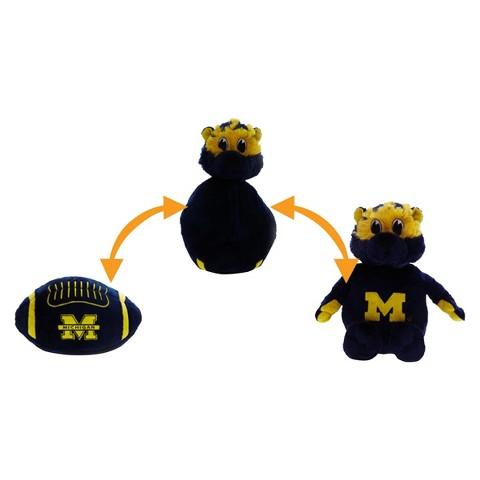 Michigan Wolverines Reverse-A-Pal Plush