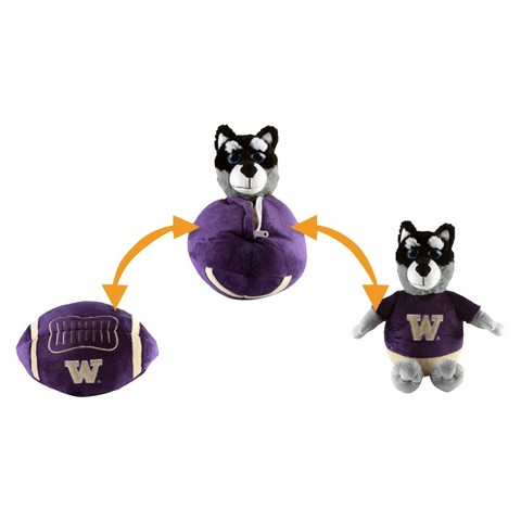 Washington Huskies Reverse-A-Pal Plush