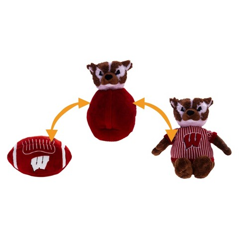 Wisconsin Badgers Reverse-A-Pal Plush