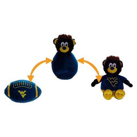 West Virginia Mountaineers Reverse-A-Pal Plush