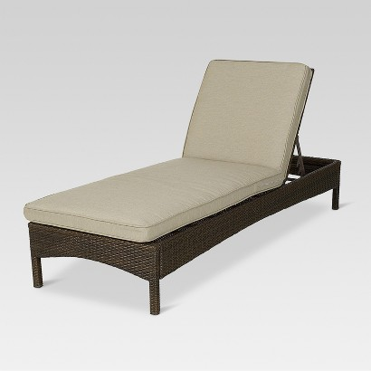 Threshold™ Rolston Wicker Patio Chaise Lounge