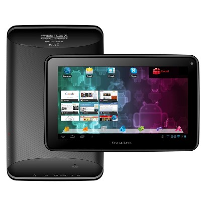 "Visual Land Prestige 7"" Google Certified Android 4.1 Tablet - Black (ME-107-L-8GB-BLK)"