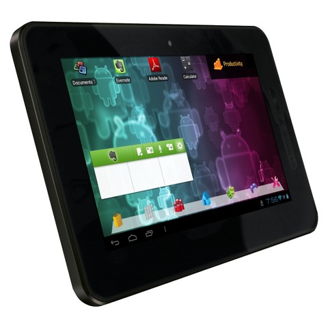 """Visual Land Connect 7"""" Android Tablet (VL879-8GB-BLK-ICS) with 8GB Internal Storage, 512MB Memory - Black"""