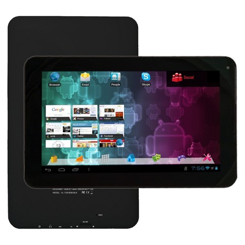 "Visual Land Connect 9"" Android Tablet (VL-109-8GB-BLK) with 8GB Internal Storage, 512MB Memory - Black"