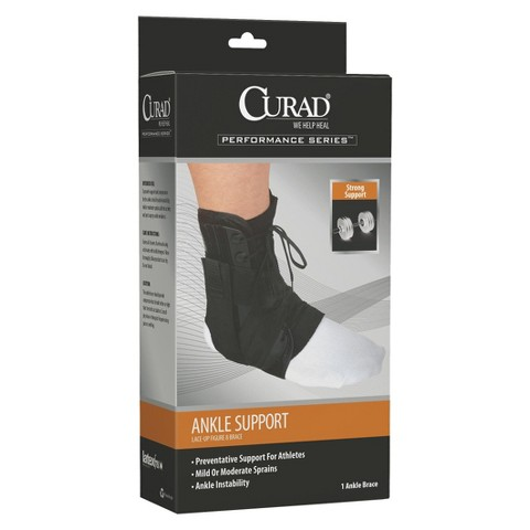 Curad Figure Eight Lace-Up Ankle Splint - Small