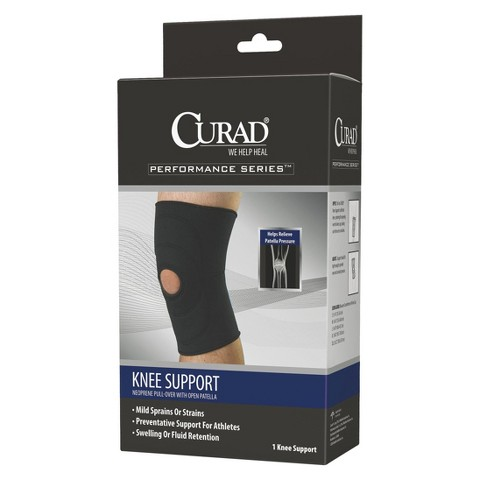 Medline CURAD® Performance Series Neoprene Pull-Over knee support - Black