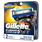 Gillette Fusion ProGlide Manual Men's Razor Blade Refills - 2 count