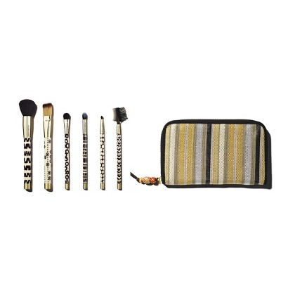 """Sonia Kashuk Limited Edition """"""""""""""""Part of the Tribe"""""""""""""""" 6pc Brush Set"""
