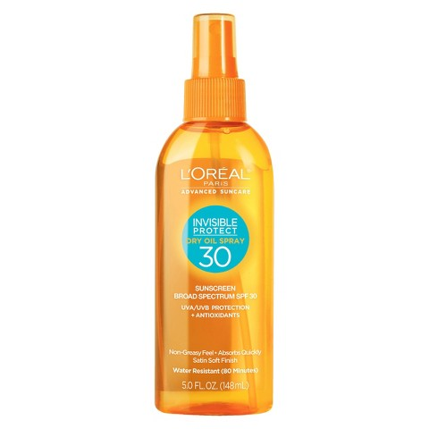 L'Oreal® Paris Advanced Suncare Invisible Protect Dry Oil Spray SPF 30 - 5 fl oz