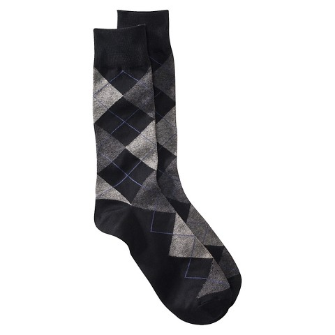 Merona® Men's 1pk Socks - Argyle - Assorted Colors