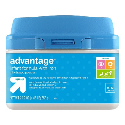 up & up® Infant Formula  Advantage - 23.2oz