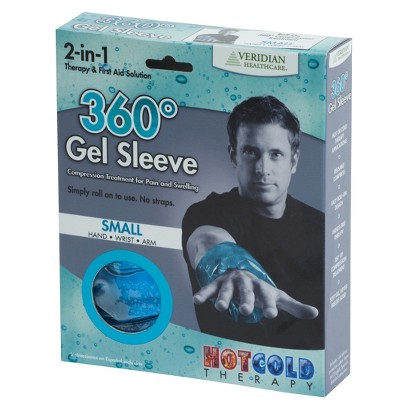 Blue Nice-N-Cool Cold Therapy Gel Sleeve  - 7.5X7.25X1.5