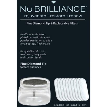 NuBrilliance Fine Diamond Tip - White