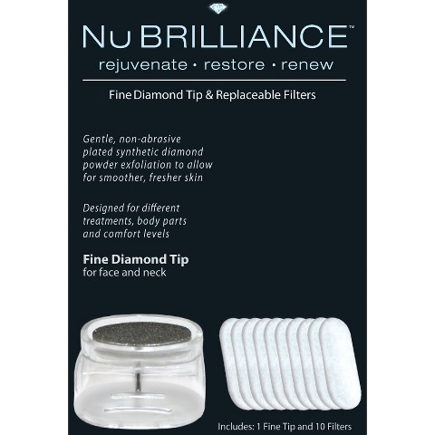 NuBrilliance Fine Diamond Tip - White
