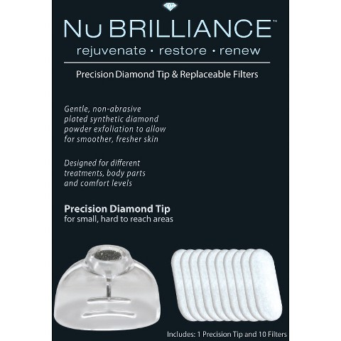 NuBrilliance Precision Diamond Tip - White