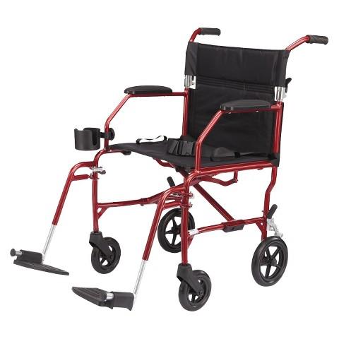 Medline Ultra Lightweight Transport Chair